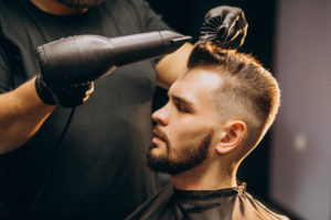 Haircut with Shaved Sides