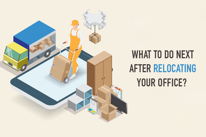 Moving your workplace with packers and movers